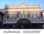 Small photo of Ballarat (Australia), January 2018 - Mining Exchange: antique palace in Lydiard Street, where people were exchanging goods during Victorian gold rush period, in Ballarat Central, Australia
