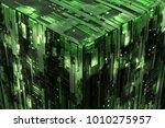 3d rendered complex structured... | Shutterstock . vector #1010275957