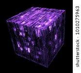 3d rendered complex structured... | Shutterstock . vector #1010275963