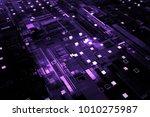 3d rendered complex structured... | Shutterstock . vector #1010275987