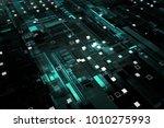 3d rendered complex structured... | Shutterstock . vector #1010275993