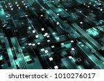 3d rendered complex structured... | Shutterstock . vector #1010276017