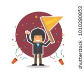 celebration colorful confetti... | Shutterstock .eps vector #1010280853