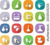 flat vector icon set   cleanser ... | Shutterstock .eps vector #1010315233