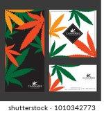 marijuana   cannabis logo... | Shutterstock .eps vector #1010342773