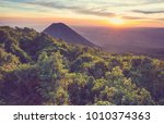 beautiful  volcano  in cerro... | Shutterstock . vector #1010374363