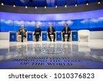 davos  switzerland   jan 26 ... | Shutterstock . vector #1010376823