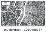 lyon france city map in retro... | Shutterstock .eps vector #1010408197