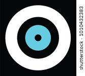 black evil eye vector   greek... | Shutterstock .eps vector #1010432383
