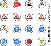 line vector icon set   main... | Shutterstock .eps vector #1010444407