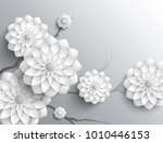 3d branches of greyscale... | Shutterstock . vector #1010446153