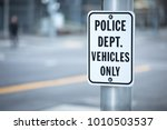 close up on a police department ...   Shutterstock . vector #1010503537