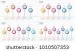 vector 5 6 7 8 steps... | Shutterstock .eps vector #1010507353