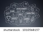 hand drawn  project...   Shutterstock . vector #1010568157