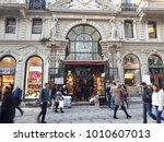 istanbul   december 25  cicek...   Shutterstock . vector #1010607013