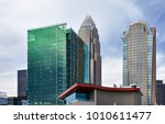 charlotte  north carolina  ... | Shutterstock . vector #1010611477