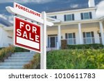 left facing foreclosure for... | Shutterstock . vector #1010611783
