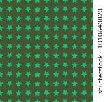 nice cartoon star pattern with... | Shutterstock . vector #1010643823