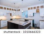 home improvement kitchen... | Shutterstock . vector #1010666323