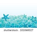 sea pattern background | Shutterstock .eps vector #101068327
