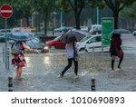 berlin  germany   06 29 2017 ... | Shutterstock . vector #1010690893