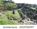 ruins of ancient sparta in... | Shutterstock . vector #1010706997