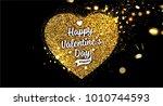 valentine's day love design  ... | Shutterstock .eps vector #1010744593