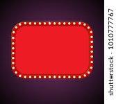 casino retro light banner.... | Shutterstock .eps vector #1010777767