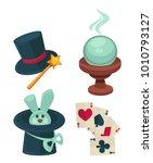 wonderful magic tricks special... | Shutterstock .eps vector #1010793127