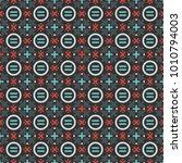 vector colorful basic shape... | Shutterstock .eps vector #1010794003