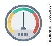 speed meter pressure   Shutterstock .eps vector #1010835937