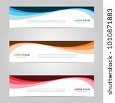 modern banner template design ... | Shutterstock .eps vector #1010871883