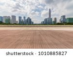 panoramic skyline and buildings ... | Shutterstock . vector #1010885827