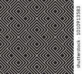 vector seamless lattice pattern.... | Shutterstock .eps vector #1010913583