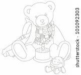 bear | Shutterstock . vector #101092303