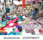 merchants sell nepalese... | Shutterstock . vector #1010938657