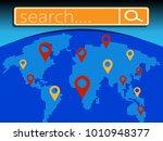 search bar element design.... | Shutterstock .eps vector #1010948377