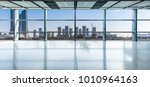 panoramic skyline and buildings ... | Shutterstock . vector #1010964163