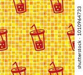 pattern. background texture.... | Shutterstock .eps vector #1010964733