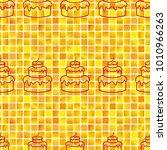 pattern. background texture.... | Shutterstock .eps vector #1010966263