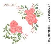 vector illustration of branch... | Shutterstock .eps vector #1011080287