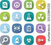 flat vector icon set   search... | Shutterstock .eps vector #1011084133