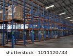 racking system and warehouse of