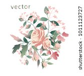 vector illustration of branch... | Shutterstock .eps vector #1011123727