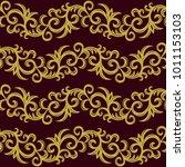 elegance seamless pattern.... | Shutterstock .eps vector #1011153103