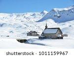 melchsee frutt  swiss skiing... | Shutterstock . vector #1011159967