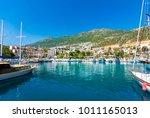 kalkan  antalya   may 15  2015  ... | Shutterstock . vector #1011165013