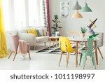 multifunctional flat interior... | Shutterstock . vector #1011198997