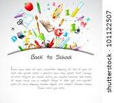 illustration of education... | Shutterstock .eps vector #101122507