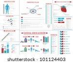 infographic genetic medicine | Shutterstock . vector #101124403